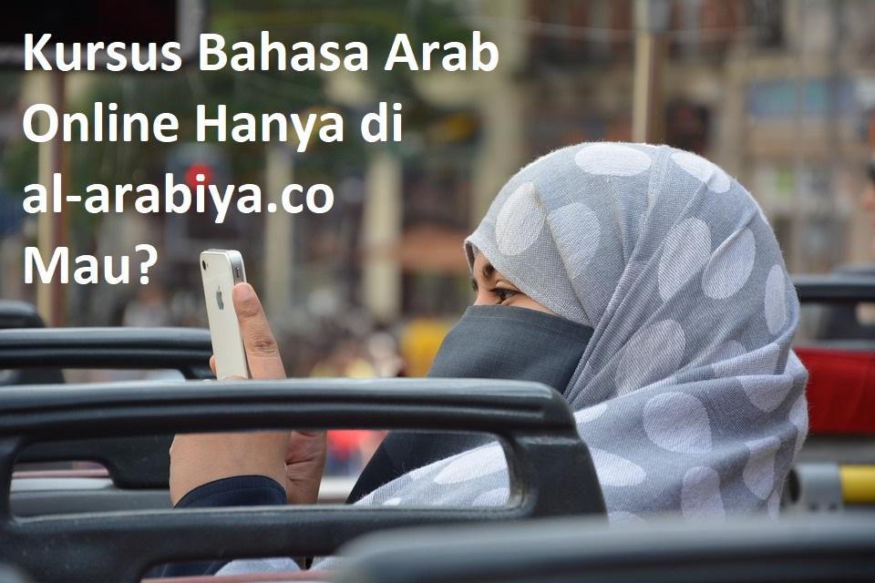 kursus bahasa arab online murah bayar 100 ribu